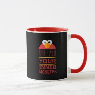 Caneca Monstro interno de Elmo
