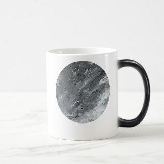 Caneca Morphing da lua cinzenta de mármore do