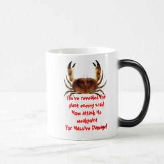 Caneca Morphing do caranguejo inimigo gigante