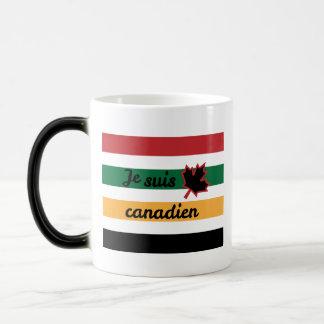 Caneca Morphing (francesa) geral canadense moderna