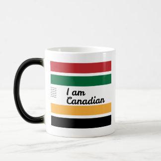 Caneca Morphing geral canadense tradicional