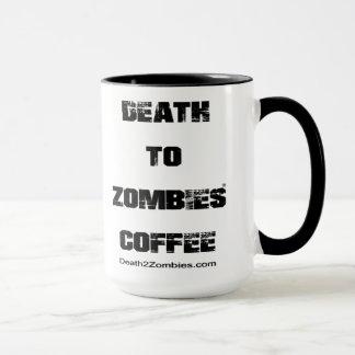 Caneca Morte ao café dos zombis