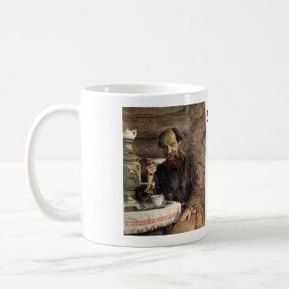 """Caneca """"Mouzhik """" do chá do russo"""