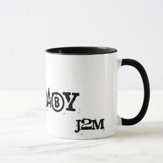 Caneca Mug cabeça de morte J2M