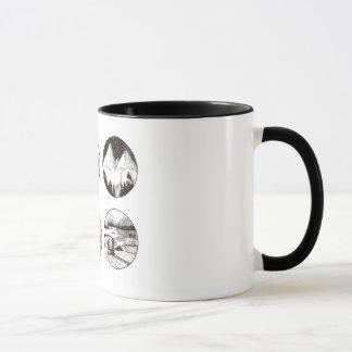 Caneca Mug with original ink design