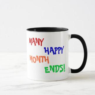 Caneca Muitas extremidades de mês felizes!
