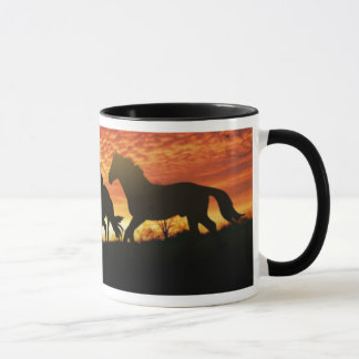 Caneca Mustang selvagens