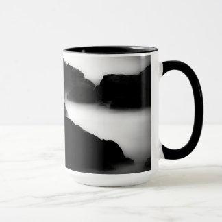 Caneca Na costa Brookings de Oregon do copo de café da