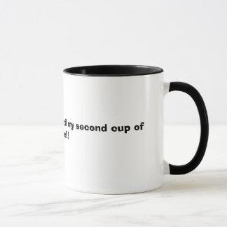 Caneca NÃO ME FALE, até minha segunda chávena de café!!!
