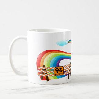 Caneca não programada do rodeio do arco-íris