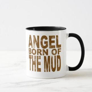 Caneca Nascer do anjo da lama