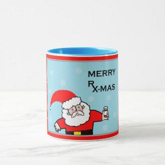 Caneca Natal do farmacêutico