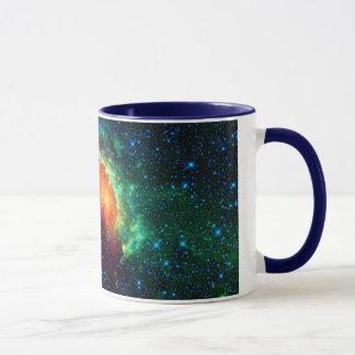 Caneca Nebulosa do Tadpole, constelação do Auriga