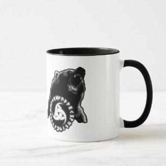 Caneca nórdica do urso