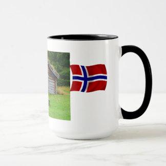 Caneca Noruega, aprecia os pastos altos