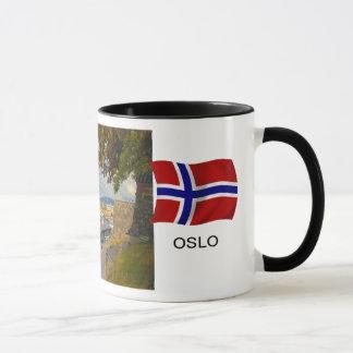 Caneca Noruega, porto de Oslo; porto