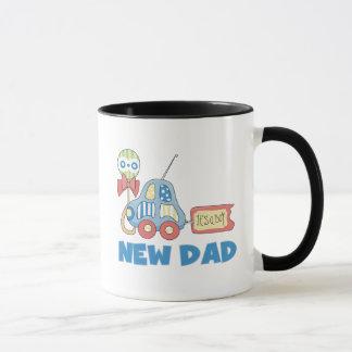 Caneca Novo papai do carro é t-shirt e presentes de um
