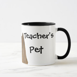 Caneca O animal de estimação do professor