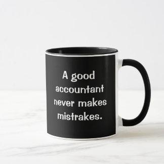 Caneca O bom contador nunca faz Mistrakes…