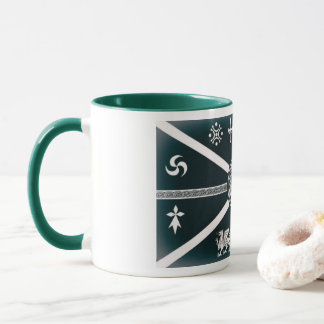 Caneca O café celta de dez nações - chá