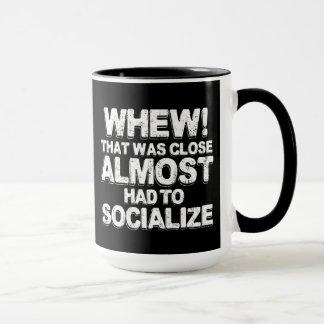 Caneca O café com Introverts