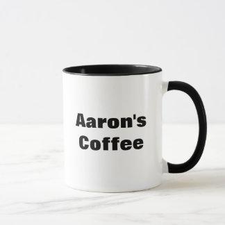 Caneca O café de Aaron