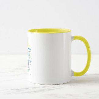 Caneca O café do optimista