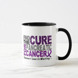 Caneca O câncer de pâncreas ENCONTRA a CURA 1