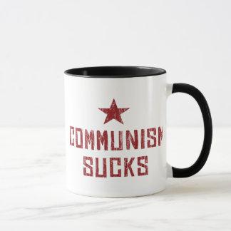Caneca O comunismo suga - comunista das rochas de América