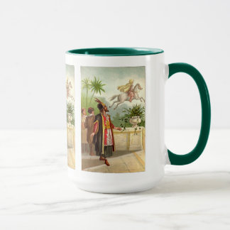 Caneca O conto do Scheherazade Enchanted do cavalo