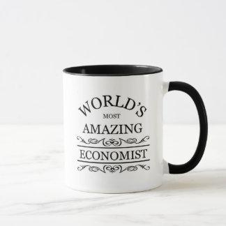 Caneca O economista o mais surpreendente do mundo