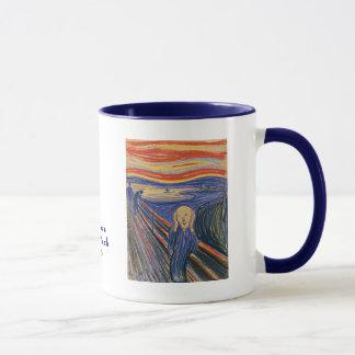 Caneca O gritar por Edvard Munch