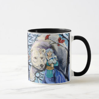 Caneca O inverno enrola PolarBear~mug