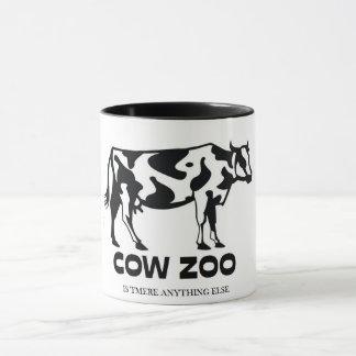 Caneca O jardim zoológico original engraçado da vaca é