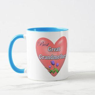 Caneca O melhor excelente - presentes do dia das mães da