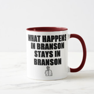 Caneca O que acontece em estadas de Branson em Branson
