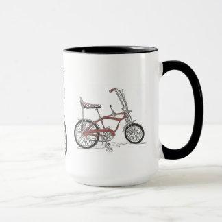 Caneca O raio de Sting dos anos 60 do vintage bicycles a