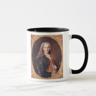 Caneca O retrato de Voltaire envelheceu 23, 1728