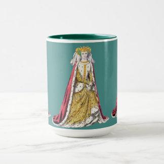 Caneca O ~ TRAJA o ~Catherine ~ 1420~ de Valois~ Henry do