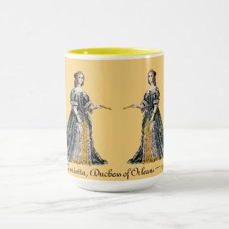 Caneca O ~ TRAJA o ~ Henrietta, duquesa do ~ 1669 de