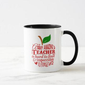Caneca Obrigado que do professor você agride