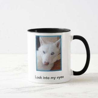 Caneca Olhe em meus olhos