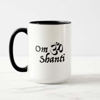 Caneca OM Shanti