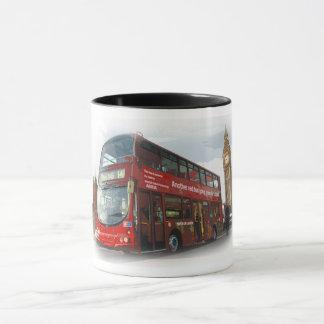 Caneca Ônibus de Londres do autocarro de dois andares