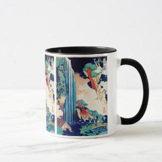 Caneca Ono cai belas artes do japonês de Hokusai
