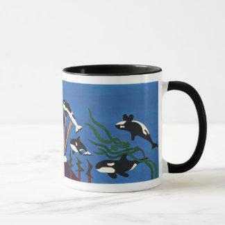 Caneca Orcas que ascensão