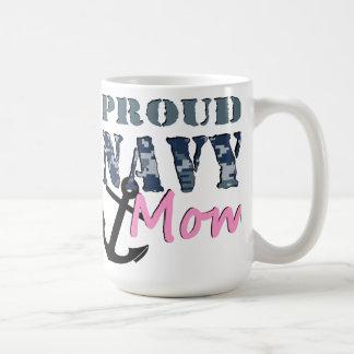 Caneca orgulhosa da mamã do marinho