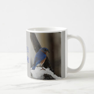 Caneca oriental nevado do Bluebird