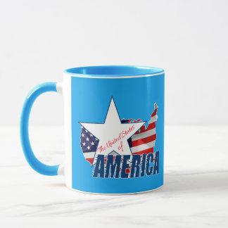 Caneca Os Estados Unidos da América 4o julho