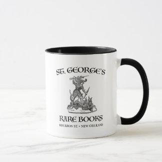 Caneca Os livros raros de St George